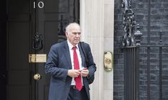 Vince Cable outside 10 Downing Street during his time as business secretary