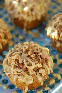 Caramel Apple Buttermilk Muffins.