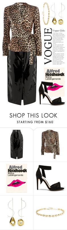 """""""Jan 16th (tfp) 5062"""" by boxthoughts ❤ liked on Polyvore featuring Solace, Ganni, Olympia Le-Tan, Alexandre Birman, Leigh Miller, Elizabeth and James and tfp"""