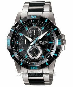 Casio Men's MTD1071D-1A1V Black Stainless-Steel Quartz Watch with Black Dial Casio. $64.03. Mineral Crystal. 42mm Case Diameter. Quartz Movement. 50 Meters / 165 Feet / 5 ATM Water Resistant. Save 57%!