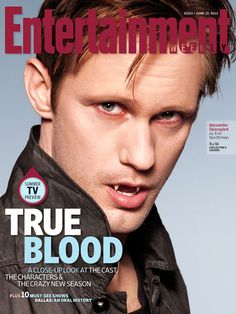 Alexander Skarsgard: 'True Blood' Cast Covers 'Entertainment Weekly' Alexander Skarsgard, Anna Paquin, Stephen Moyer, and Joe Manganiello strike a pose for their own individual covers in the latest issue of Entertainment Weekly, on… Entertainment Weekly, Dracula, Vampires, Serie True Blood, Alexander Skarsgard True Blood, Eric Northman, Alexander Skarsgård, Tarzan, I Movie