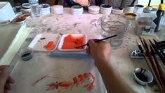 Lesson 34 Shrimp and Crab in Qi Baishi Style with Prof Rao Wei(Trailer)