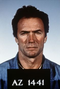 Clint Eastwood-Escape from Alcatraz Clint And Scott Eastwood, Actor Clint Eastwood, Frank Morris, Celebrity Mugshots, Celebrity Portraits, Westerns, San Francisco, Hollywood, The Expendables