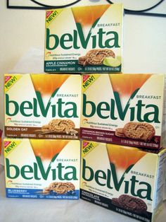 Breakfast Biscuit US Flavors. They are all delicious and satisfying. - Breakfast Biscuit US Flavors. They are all delicious and satisfying. I got a package of th - Belvita Breakfast Biscuits, Healthy Biscuits, Weight Watchers Breakfast, Weight Watchers Meals, Protein Bar Brands, Breakfast On The Go, Breakfast Ideas, Packaging