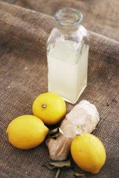 Recept med ingefära och citron! Ta en shot (4-6cl) om dagen av detta så kommer din förkylning vara tvungen att hitta andra personer att plåga.