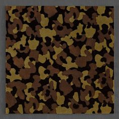 Kombat camouflage leather tiles for walls.