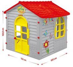 Duży domek ogrodowy dla dzieci Mochtoys