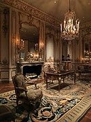 The salon is the assembly room, used for festive occasions. It is here that the greatest formality prevails; in this room, magnificence must unfold; wealth must be lavished; and the Artist must deploy his taste and his genius