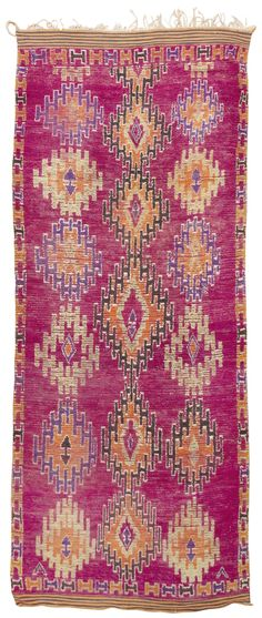 Vintage Moroccan Rug. Check out our Moroccan Rug designs at https://www.visionbedding.com/Rugs/Moroccan.php