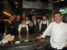Parte del equipo de cocina del Ricard Camarena Restaurant y del Canalla Bistro by Ricard Camarena. Foto @Philipperegol
