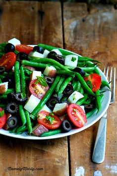 Green Bean Pasta Al Fresco | Namely Marly