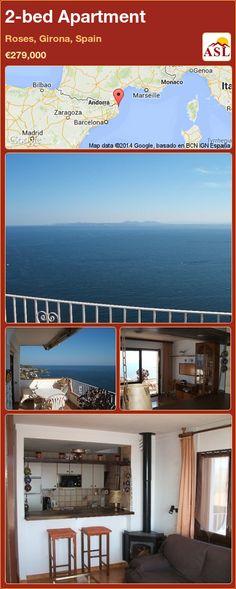 2-bed Apartment in Roses, Girona, Spain ►€279,000 #PropertyForSaleInSpain