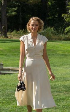 Blake Lively In 'Cafe Society'. Costumes by Suzy Benzinger, in collaboration with Chanel. Moda Vintage, Vintage Mode, Modern Vintage Style, Cafe Society Movie, Blake Lively Style, Blake Lively Outfits, Blake Lively Dress, Age Of Adaline, Vintage Dresses