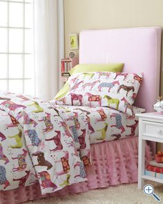 Gah. Why is boy bedding so boring? Maybe I'll just buy this for myself.