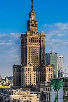 Warsaw skyscrapers