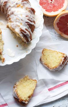 Glazed Grapefruit Bundt Cake - This is the most recent favorite. Less fussy than the recipe suggests, dry ingredients in one bowl, wet in another, then combine. Grapefruit/sugar glaze after cake has cooled is tedious but worth it.