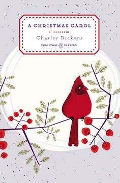 A CHRISTMAS CAROL by Charles Dickens -- One of five beloved Christmas classics in collectible hardcover editions     First published on December 19, 1843, A Christmas Carol was an instant classic: Londoners thronged to hear Dickens read it in person and bought out the first printing in days.