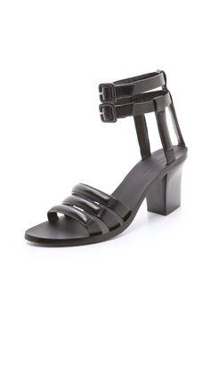 PruneforJune.com Mid Heel Sandals, Flat Sandals, Flats, Heels, Alexander Wang, Pairs, Women's Shoes, Style, Fashion