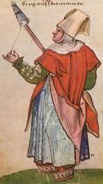 """Pamplona. """"Trachtenbuch de Christoph Weiditz von seinen teisen nach Spanien (1529)und den Niederlandeden (1531/32)"""""""