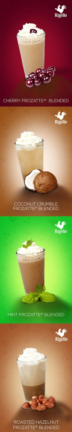 #Frozatte® Line #Coffee by #Rigello