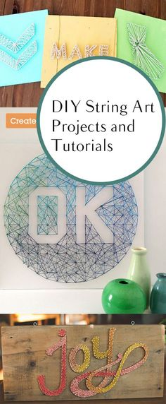 DIY String Art Projects and Tutorials