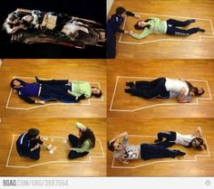 How titanic could have ended... seriously, both of them could've fit on that freaking piece of wood! haha