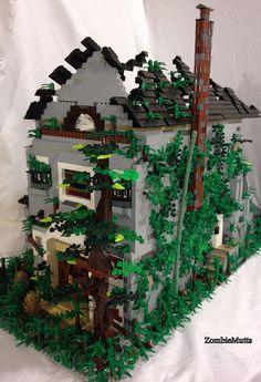 lego apocalypse house