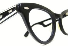 Vintage Cats Eye Eyeglasses Sunglasses Frame by Vintage50sEyewear, $89.00