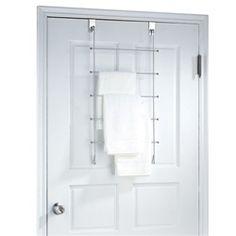Three racks for your towel, wash cloth & hand towel!