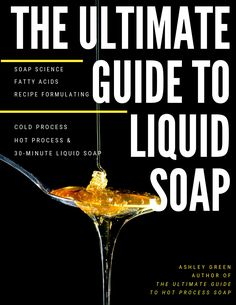 The Ultimate Guide to Hot Process Soap covers everything you need to know about hot process soap making. Join us in learning about soap science, recipe formulating, low temperature hot process and the very beautiful and swirled fluid hot process! Clear Glycerin Soap, Liquid Castile Soap, Liquid Soap Making, How To Make Crystals, Soap Colorants, Homemade Soap Recipes, New Recipes, Cold Process Soap, Home Made Soap