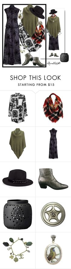 """""""Untitled #1003"""" by ravenleeart ❤ liked on Polyvore featuring Boohoo, Sylvia Alexander, Kavu, Agnona, Karl Lagerfeld, Yves Saint Laurent, Bloomingville, Chanel and winterstyle"""
