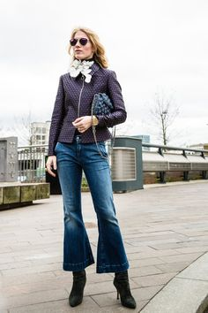 Pin for Later: The Fashion Crowd Hit the Streets of London in Style Day 3