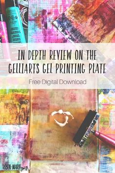 Roben-Marie Smith in-depth review of Gelli Plate