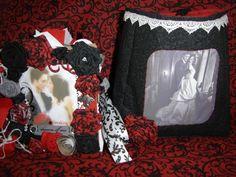 Twilight Edward & Bella paper bag scrapbook album with matching tote bag,I made