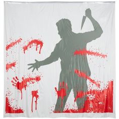 1000 images about cool shower curtains on pinterest for Psycho shower curtain and bath mat
