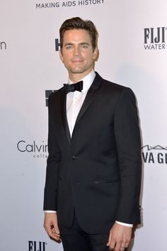 Actor and presenter Matt Bomer attends the amfAR Inspiration Gala New York 2014 at The Plaza Hotel on June 10, 2014 in New York City.