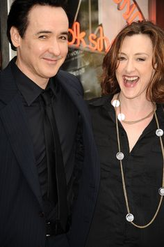 BROTHER AND SISTER  Joan Cusack and her brother, John.