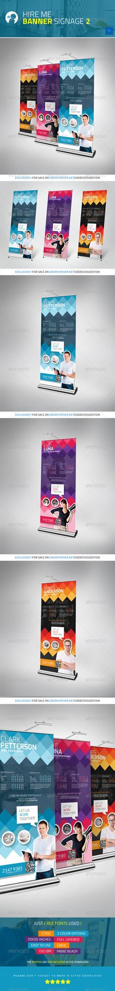 Buy Multipurpose Banner Signage 8 by cooledition on GraphicRiver. Multipurpose Banner Signage 8 Suitable for: Creative Brochure, Brochure Design, Signage Design, Banner Design, Standee Design, Commercial Signs, Roll Up Design, Pop Up Banner, Letterhead Template
