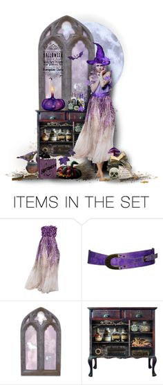 """""""The Witch Wore...? Contest"""" by likepolyfashion ❤ liked on Polyvore featuring art and dollset"""