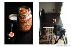 Low/High Key Food Photography