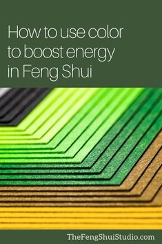 Feng Shui uses color to balance and harmonize a space. Use color to create your Feng Shui Home today. Feng Shui Basics, Feng Shui Principles, Feng Shui Tips, Feng Shui Design, Feng Shui Art, Feng Shui Energy, Chi Energy, Yang Energy, Feng Shui Studio