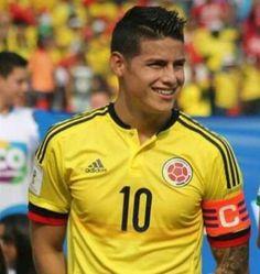 James Rodríguez.  Colombiano, jugador del Real Madrid C. F. y Selección Colombia, Hijo de Dios.