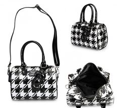 Add to your #Loungefly x Hello Kitty collection with this Houndstooth Embossed Mini City today!  http://www.loungefly.com/brands/hello-kitty/bags/hello-kitty-houndstooth-embossed-bag.html