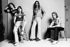 Patrick O'Hearn, Terry Bozzio, Frank Zappa and Eddie Jobson