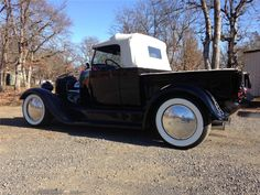 1928 ford convertibles | 1928 Ford Custom Pickup Convertible 355 V8 Black Side View