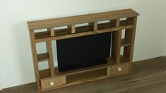 How to make a Doll Living Room TV Cabinet