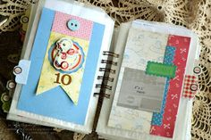 A Delightful Waste of Time: Scrapbook Sunday - Baby Book...14