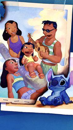 :) — Disney wallpapers Lilo and Stitch Disney Stitch, Lilo And Stitch 2002, Wallpaper Iphone Disney, Cute Disney Wallpaper, Cute Cartoon Wallpapers, Image Princesse Disney, Stitch Drawing, Pinturas Disney, Disney Films