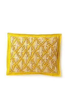 "Mar Y Sol Praia 14"" x 18"" Rectangle Pillow"