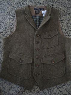 Ralph Lauren wool waistcoat